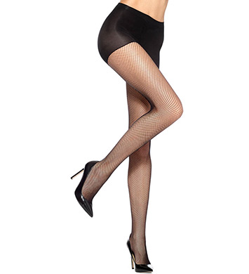 Hue Fishnet Control Top Pantyhose