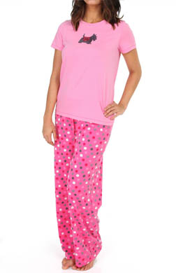 Hue Sequins Sparkling Scotty PJ Set