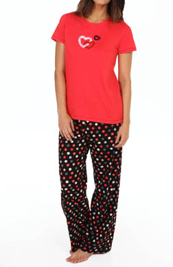 Hue Sequins Heart n Soul PJ Set