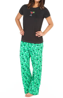 Hue Sequins Hol-i-tail PJ Set