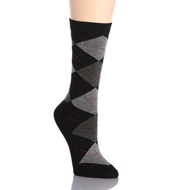 Hue Argyle Sock