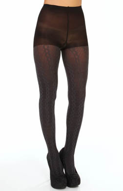 Hue Cable Rib Tights w/ Control Top
