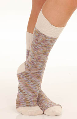 Hue Spacedye Slub Boot Sock