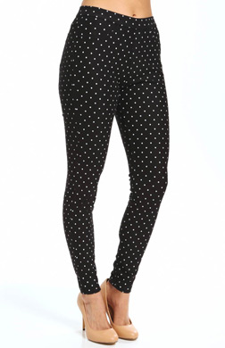 Hue Polka Dot Jeans Leggings