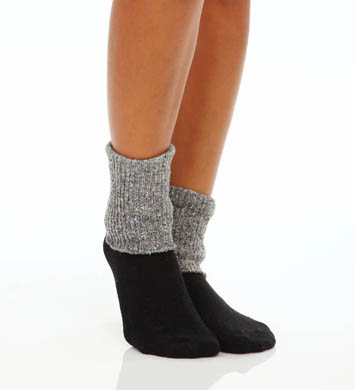 Hue Tweed Cuff Sock