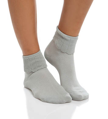 Hue Tonal Turncuff Sock
