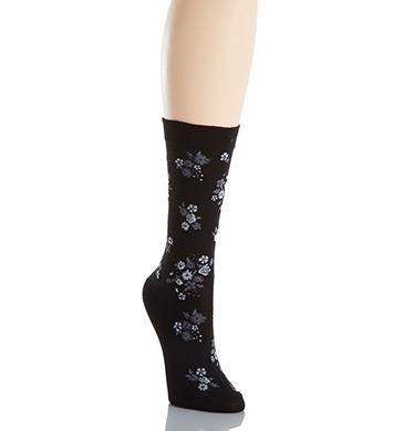Hue Solid Femme Top Sock