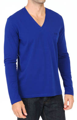 Hugo Boss Innovation 1 Longsleeve V-Neck T-Shirt