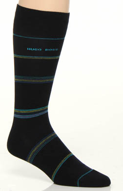 Hugo Boss Cotton Modal Stripe Sock