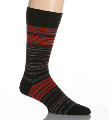 Hugo Boss Combed Cotton Multi-stripe Sock