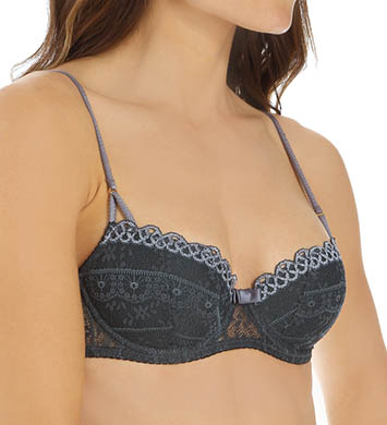 Huit French Kiss Half Cup Bra with Foam