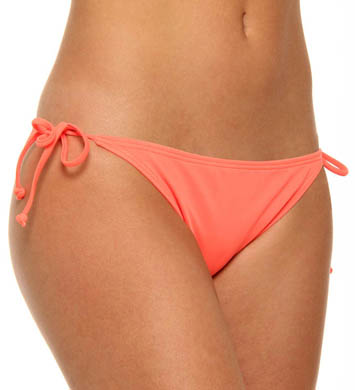Hurley One and Only Solids String Tie Side Swim Bottom