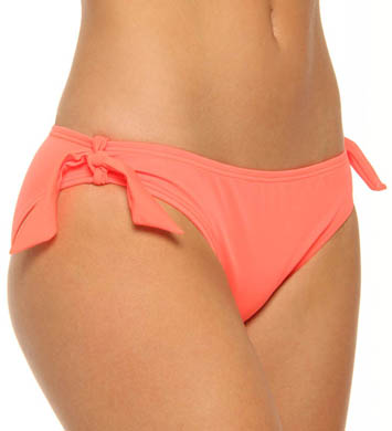 Hurley One and Only Solids Hipster with Ties Swim Bottom