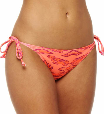 Hurley Flammo String Tie Side Swim Bottom