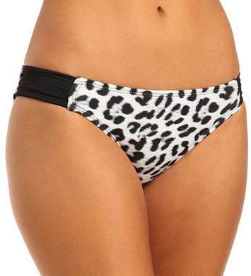 Hurley Leopard Aussie Tab Side Swim Bottom