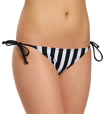Hurley Surfside Stripe Tie Side Swim Bottom