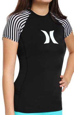 Hurley Surfside Stripe Rash Guard