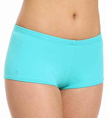 Hurley One and Only Solids Boyshort Swim Bottom