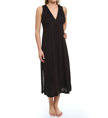 Jones New York Pintuck Jersey Long Gown