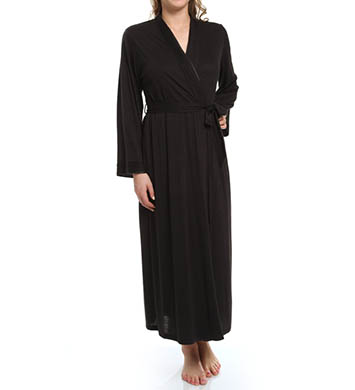 Jones New York Pintuck Jersey Long Robe