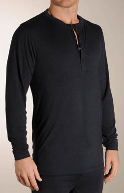 Joseph Abboud Long Sleeve Henley Shirt