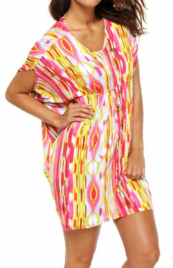 Josie by Natori Sleepwear Sulu Printed Slinky Tunic