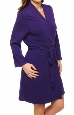 Josie by Natori Sleepwear Chesa Solid Modal Wrap