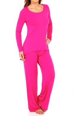 Josie by Natori Sleepwear Femme Long-Sleeve Pajama Set
