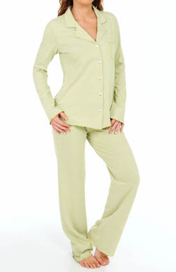 Josie by Natori Sleepwear Coy Notch Pajama Set