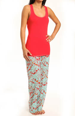 Josie by Natori Sleepwear Chinwallserie Pajama Set