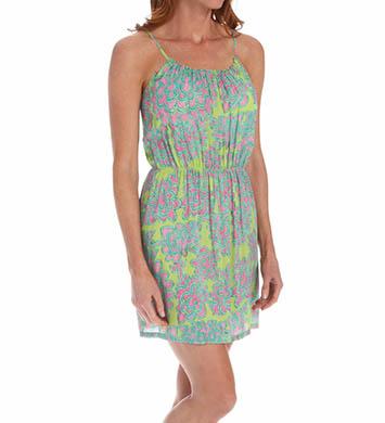 Josie by Natori Sleepwear Glamour Floral Printed Challis Skimmer