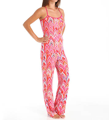 Josie by Natori Sleepwear Magda Printed Modal Cami Pajama Set