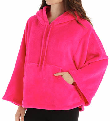 Josie by Natori Sleepwear Coral Fleece Hooded Pullover