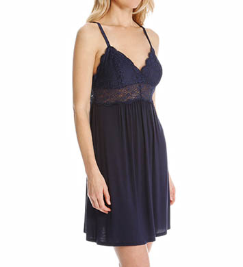 Josie by Natori Sleepwear Nora Modal Chemise with Lace