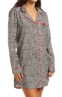 Juicy Couture Fireside Flannel Nightshirt