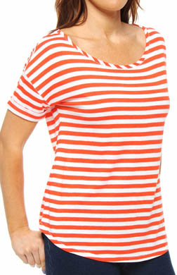 Juicy Couture Basic Knits Stripe Malibu Tee