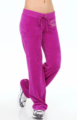 Juicy Couture Ornate Velour Pant