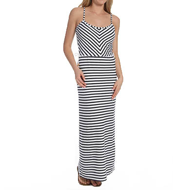 Juicy Couture Terry Striped Maxi Dress