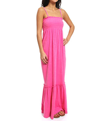 Juicy Couture Terry Smocked Maxi Dress