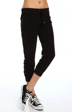 Juicy Couture Relaxed Terry Basics Slim Capri Pant