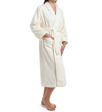 KayAnna Microfiber Terry Lined Spa Robe