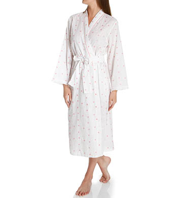 KayAnna Daisy Embroidery Long Robe