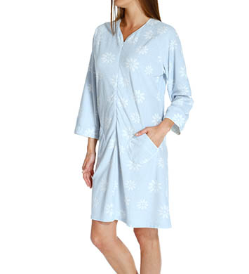 KayAnna Daisy Terry Jacquard Zip Up Robe
