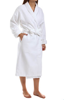 KayAnna Double Faced Waffle Terry Robe