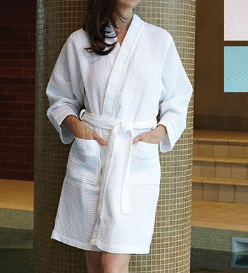 KayAnna Waffle Kimono Robe