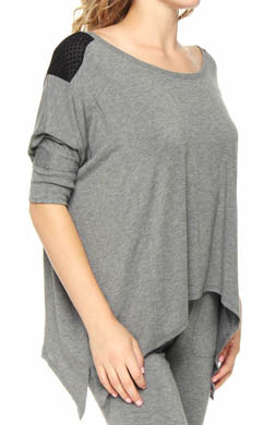 Kensie Permanent Collection Mason Cutout Top