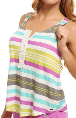 Kensie Rosy Outlook Tank