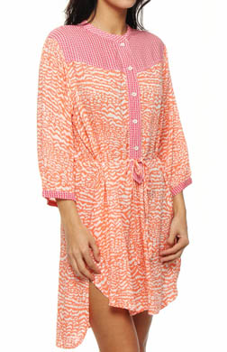 Kensie Sidewalk Cafe Roll Sleepshirt