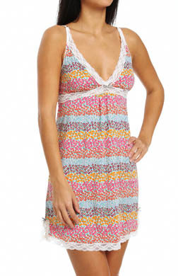 Kensie Seasonal Keepers Whitney Microfiber Chemise