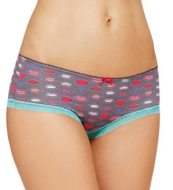 Kensie Maya Micro Boyshort Panty